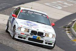 #224 ADAC Ostwestfalen-Lippe BMW E36 M3: Dominik Thiemann, Allan Runnegard, Thomas Frank, Michael Rank
