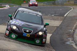 #139 Seat Leon Supercopa: Stefan Wieninger, Georg Niederberger, Benjamin Weidner, Franz Posch