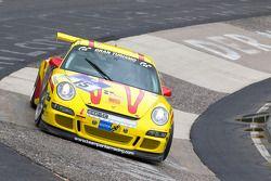#15 Team Parker Racing Porsche GT3 Cup 997: Christopher Cooper, Guy Spurr