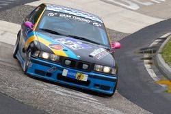 #203 BMW E36 318is: Günter Memminger, Stefan Memminger, Christoph Unterhuber