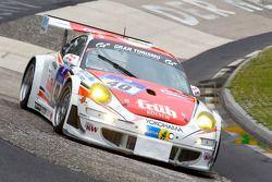 #40 Porsche 997 RSR: Klaus Abbelen, Sabine Schmitz, Edgar Althoff, Dieter Schornstein
