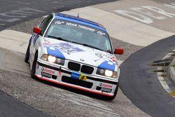 #204 BMW E36 318is: Andreas Schwarz, Christian Sporenberg, Christian Wack, Michael Holz