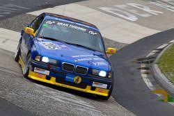 #205 MSC Wahlscheid ADAC BMW E36 318is: Michael Jestädt, Rolf Derscheid, Michael Flehmer, Werner Sc