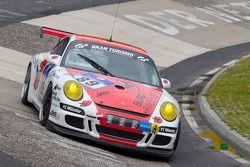 #89 Bonk Motorsport Porsche 997 GT3: Michael Bonk, Peter Bonk, Wolf Silvester