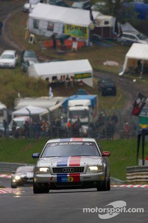 #79 Derichs Rennwagen Audi D2 W12: Manfred Kubik, Keith Ahlers, Erwin Derichs, Hans Georg Dornhege