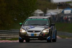 #243 Honda Civic Type-R: Rod Hicks, David Glasson, Peter Milliner, Gregory Spark