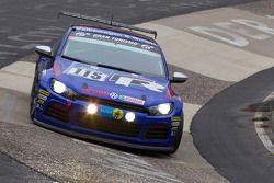 #115 Volkswagen Motorsport Volkswagen Scirocco: Jimmy Johansson, Nicki Thiim, Peter Terting, Dieter