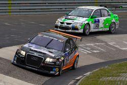 #70 Team Götz Motorsport Audi RS4: Vic Rice, Shane Lewis, Axel Duffner, Karl Pflanz