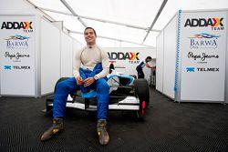 Felipe Guimaraes in the garage