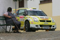 Aaron Nikolai Burkart and Michael Koelbach, Suzuki WRC