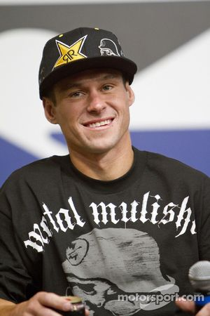 Brian Deegan announced at Charlotte Motor Speedway that he will be joining the NTS Motorsports driver development program with the objective of moving through the ranks of NASCAR to Sprint Cup Series