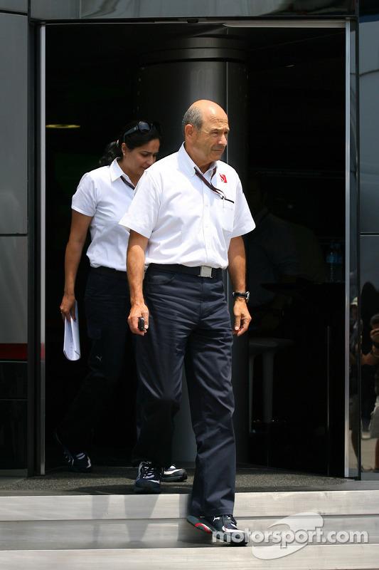 Peter Sauber, BMW Sauber F1 Team, teambaas