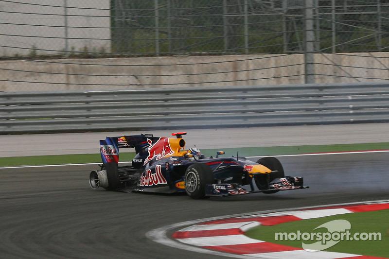 Mark Webber, Red Bull Racing ve Sebastian Vettel, Red Bull Racing kaza