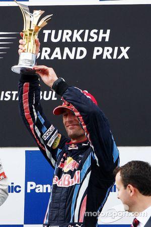 Podyum: 3. Mark Webber, Red Bull Racing