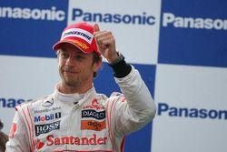 Podyum: 2. Jenson Button, McLaren Mercedes