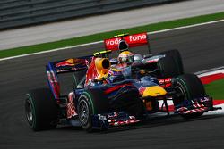 Mark Webber, Red Bull Racing y Lewis Hamilton, McLaren Mercedes