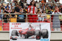 A fan of Fernando Alonso, Scuderia Ferrari