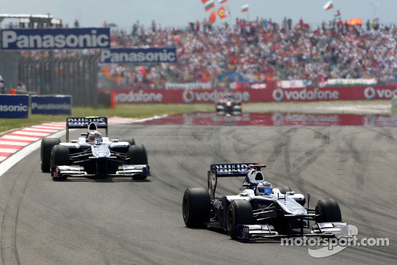 Rubens Barrichello, Williams F1 Team voor Nico Hulkenberg, Williams F1 Team