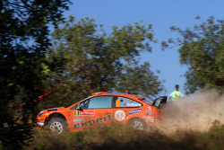 Хеннинг Сольберг и Илка Минор, Ford Focus RS WRC 08, Stobart VK M-Sport Ford Rally Team