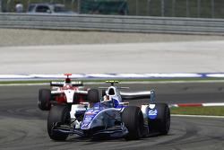 Giacomo Ricci leads Jules Bianchi