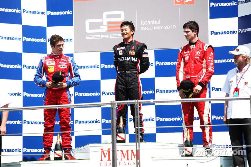 Dengan raihan ini, Rio Haryanto menjadi pembalap asal Asia pertama yang meraih kemenangan di GP3 Series.