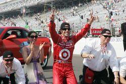 Dario Franchitti, Target Chip Ganassi Racing wins the 94th Indianapolis 500