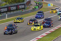 Start: #184 Audi A3: Mike Jäger, Christian Bollrath