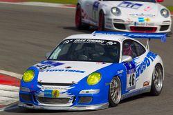 #46 Lammertink Racing avec Toyo Tires Porsche 997 GT3 Cup: Tom Coronel, Duncan Huisman, Kikuchi Yasushi, Kinoschita Tkayuhi