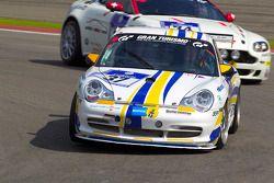 #37 Porsche Center Boras Porsche 996 GT3 Cup: Christer Pernvall, Cleas Lund, Hans Andreasson, Patrik Ljunggren