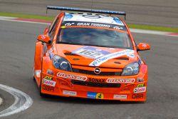 #162 Kissling Motorsport Opel Astra GTC: Heinz Otto Fritzsche, Jürgen Fritzsche, Hannu Luostarinen,