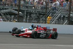 Justin Wilson, Dreyer & Reinbold Racing, Tomas Scheckter, Dreyer & Reinbold Racing