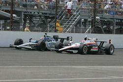 Raphael Matos, de Ferran Dragon Racing & Ryan Briscoe, Team Penske