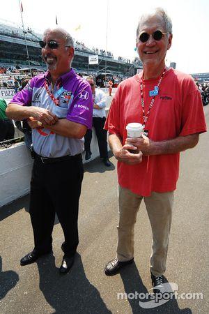 Bobby Rahal and David Letterman