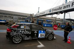 #184 Audi A3: Mike Jäger, Christian Bollrath in the penalty box