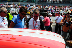 Robin Roberts et Johnny Rutherford