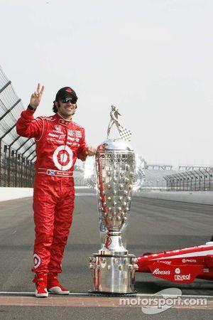 2010 Indianapolis 500 Champion Dario Franchitti, Target Chip Ganassi Racing