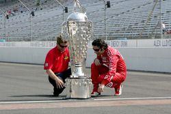 2010 Indianapolis 500 Champion Dario Franchitti, Target Chip Ganassi Racing, 2010 Daytona 500 Winner Jamie McMurray, Earnhardt Ganassi Racing