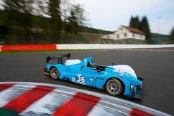 #36 Pegasus Racing Courage-Oreca LC75 AER: Julien Schell, Jean-Christophe Metz, Frederic Da Rocha