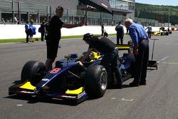 #8 Ingo Gerstl, Dallara GP2