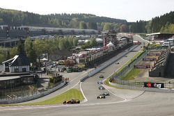 Tour 1 : #21 Karl-Heinz Becker, Dallara Nissan WS et #12 Philippe Bourgois, G-Force Indycar