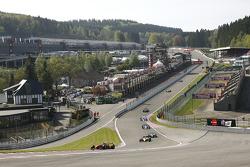 1e ronde: #21 Karl-Heinz Becker, Dallara Nissan WS en #12 Philippe Bourgois, G-Force Indycar