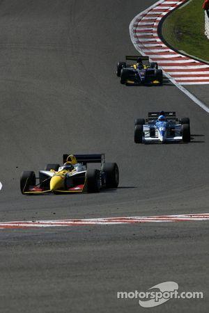 #12 Philippe Bourgois, G-Force Indycar et #16 Abba Kogan, Tyrrell 023 F1 et #8 Ingo Gerstl, Dallara GP2