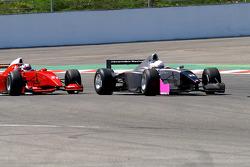 #22 Carlos Antunes Tavares, Dallara Nissan WS et #21 Karl-Heinz Becker, Dallara Nissan WS