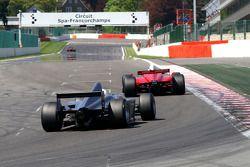 #21 Karl-Heinz Becker, Dallara Nissan WS et #22 Carlos Antunes Tavares, Dallara Nissan WS