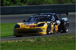 LG Motorsports Corvette: Eric Lux, Kelly Collins