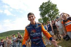 Ricky Taylor, winning co driver with Max Angelelli, SunTrust Racing Ford Dallara