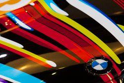 Presentación de la BMW Art Car, Centro Pompidou, París: el 17 BMW arte coche detalle