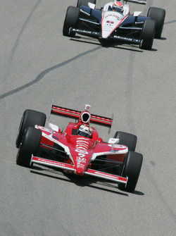 Scott Dixon, Target Chip Ganassi Racing, Ryan Briscoe, Team Penske