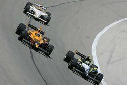Tomas Scheckter, Dreyer & Reinbold Racing, Simona De Silvestro, HVM Racing, Alex Lloyd, Dale Coyne R