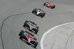 Dario Franchitti, Target Chip Ganassi Racing, Mario Romancini, Conquest Racing, Dan Wheldon, Panther Racing & Helio Canstroneves, Team Penske